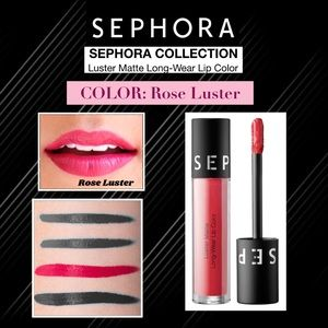 SEPHORA: Luster Matte Lip Color—Rose Luster